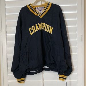 Vintage 90's Champion windbreaker sweater